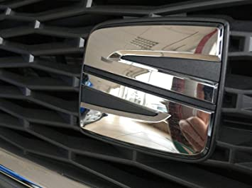 Emblema Seat Leon 5 F a partir de 2017 caracteres Badge Marca enfriador Barbacoa 5 F0853679 C 2zz: Amazon.es: Coche y moto