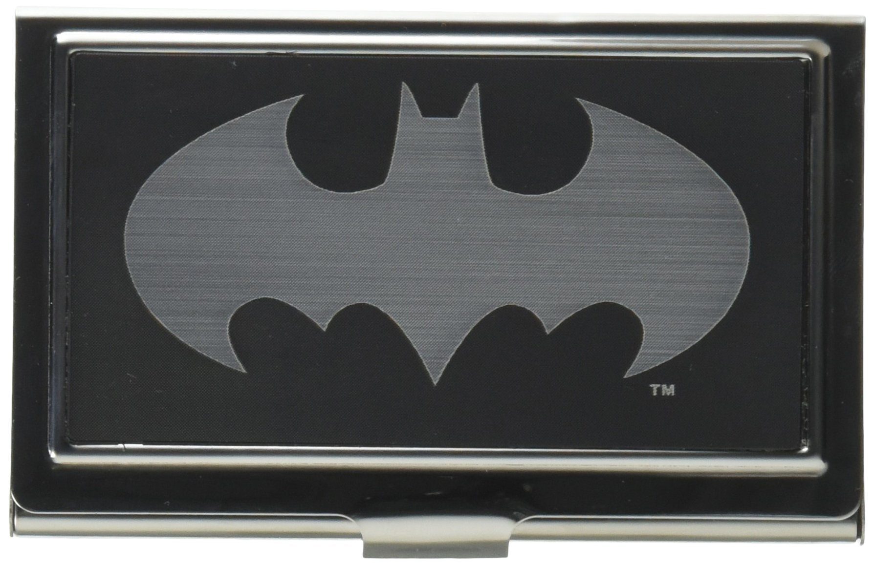 Buckle-Down Business Card Holder - Batman Reverse Brushed - Small