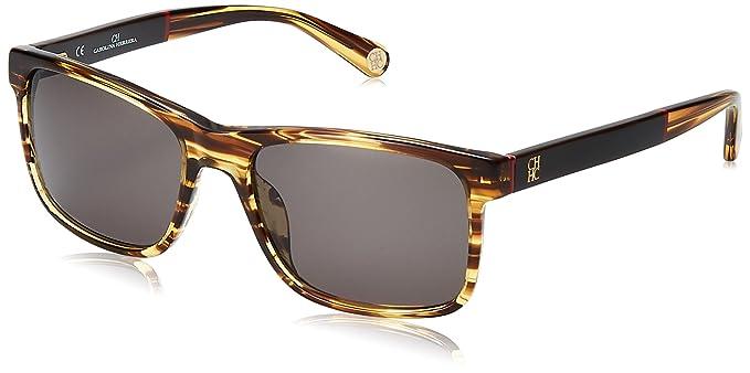 Carolina Herrera SHE657560T94 Gafas de Sol, Marrón, 56 para ...