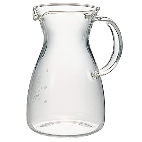 Heatproof Decanter with handle 400ml, G lass