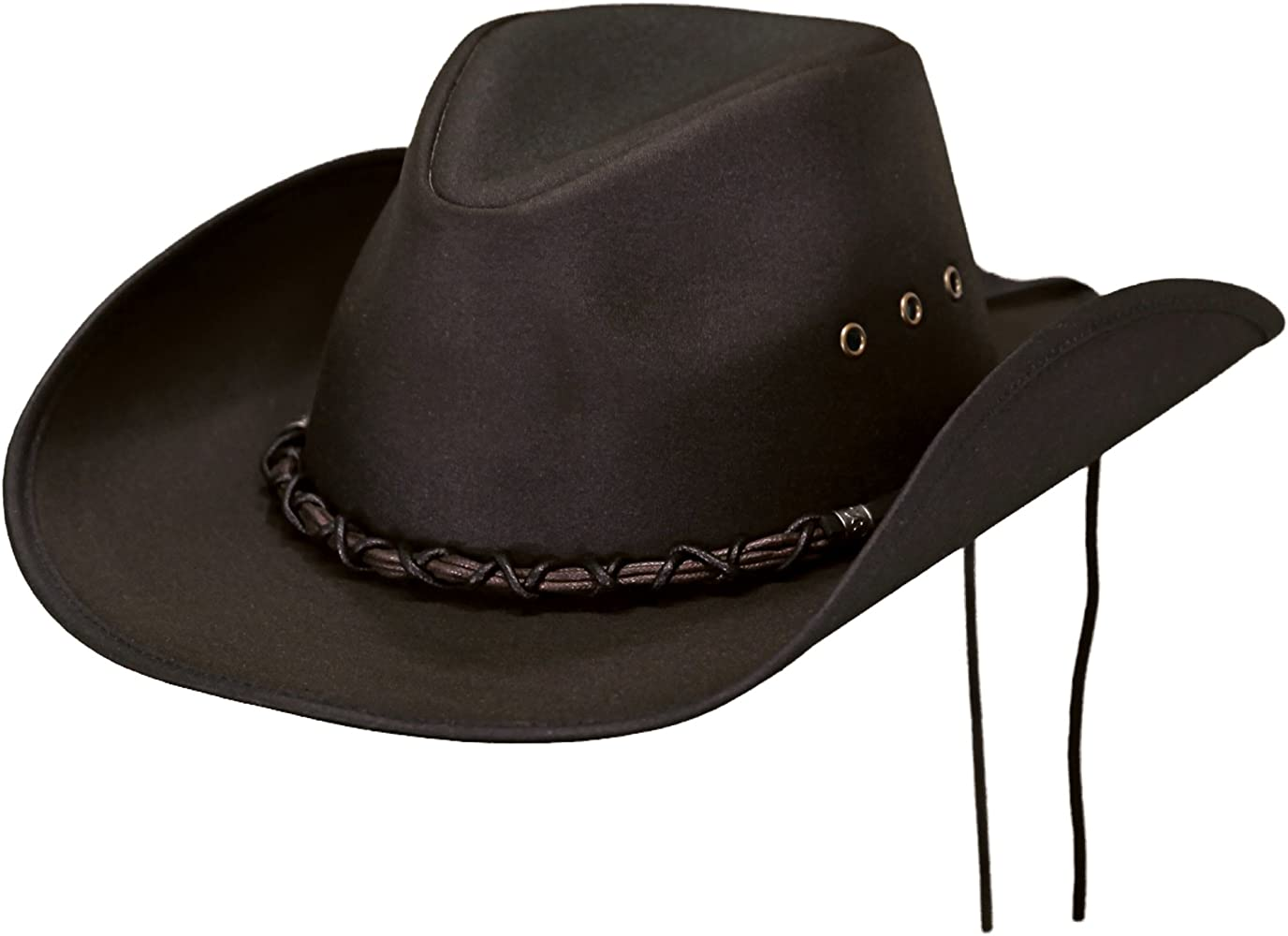 Outback Trading Bootlegger Hat, Brown, Large
