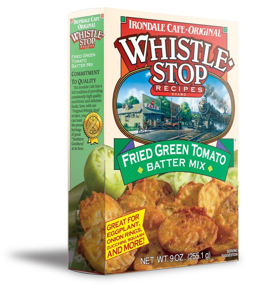 Original WhistleStop Cafe Recipes | Fried Green Tomato Batter Mix | 9-oz | 1 Box