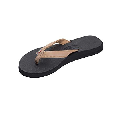 Rainbow Sandals Women's The Cottons Soft Rubber Top Sole w/Tapered Strap | Flip-Flops