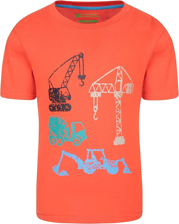 Mountain Warehouse Construction Team Kids Tee Tshirt
