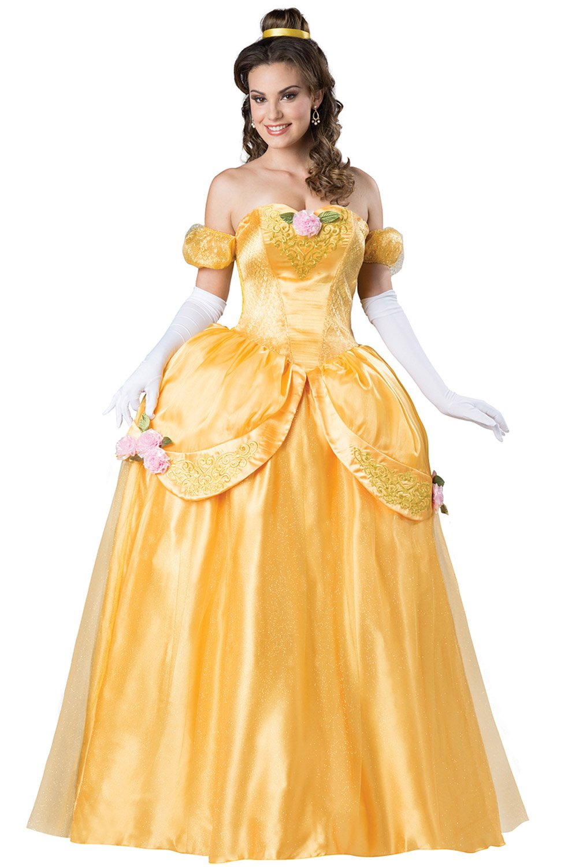 Fun World Women's Beautiful Princess Costume, Gold, XL