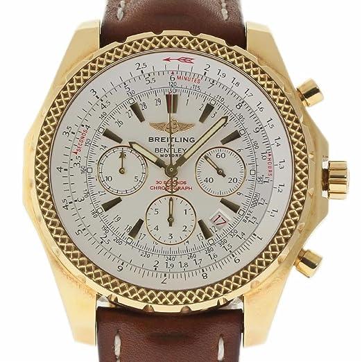 Breitling Bentley swiss-automatic Mens Reloj K25362 (Certificado) de segunda mano: Breitling: Amazon.es: Relojes