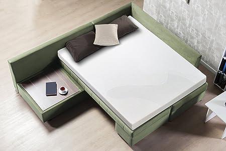 Amazon.com: Sofá cama colchon Sleep Master de espuma con ...