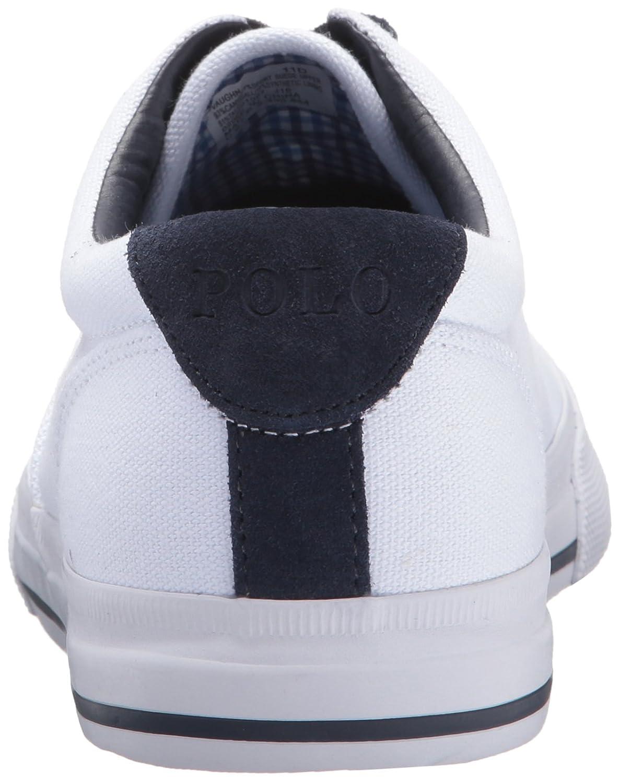 Polo Ralph Lauren Vaughn Toile Zapatilla Mode Deporte - Blanc Pur (41 I / Uk 7/8) très en ligne sneakernews à vendre vente chaude rabais 100% original ZrbtDc