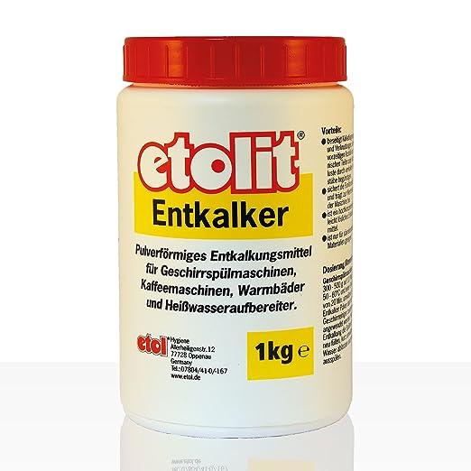 Etolit descalcificador para Todo Tipo de cafeteras, como para Ecm ...