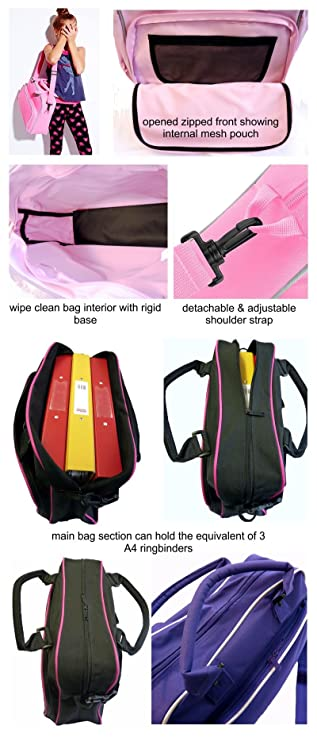 Personalised Custom Dance Bag /& Drawstring Shoe Backpack MusicaliTee Scottish Highland Dancing Fling /& Swords