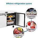Commercial 2 Door Undercounter Freezer - KITMA 13