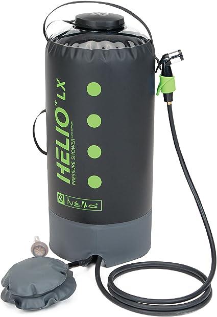 Helio pressure Shower black//orange