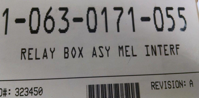 063-0171-055 RAVEN RELAY BOX ASSEMBLY MEL INTERFACE