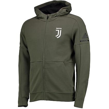 3d453f302a152 Amazon.com : adidas 2017-2018 Juventus Anthem Jacket (Base Green ...