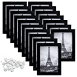 upsimples 5x7 Picture Frame with Real Glass,Bulk