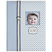 C.R. Gibson First 5 Years Memory Book, Record Memories and Milestones on 64 Beautifully Illustrated Pages - All Boy
