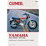 Clymer Repair Manual for Yamaha 650 Twin 70-82