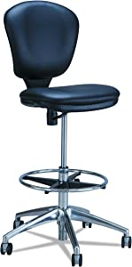 Safco Products Metro Extended Height Chair , Ergonomic, Pneumatic Height Adjustable, Heavily Padded