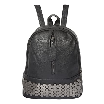 daad7be2a6e6 Image Unavailable. Image not available for. Colour  AllExtreme Women  Leather Backpack for Girls ...