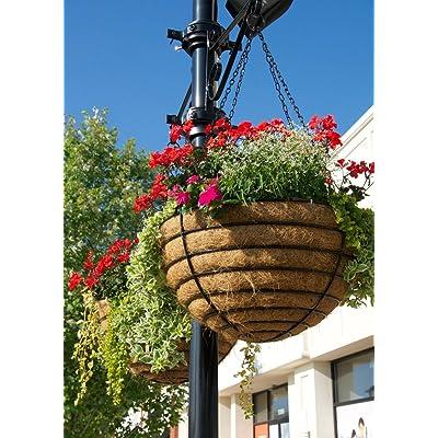 "KIS CASE/2 24"" Hanging Basket & Liner Set - Euro Classic: Garden & Outdoor"