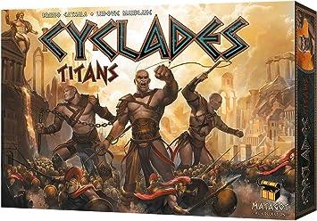 Matagot Cyclades Titans - Juego de mesa, de 3 a 6 jugadores: Amazon.es: Juguetes y juegos