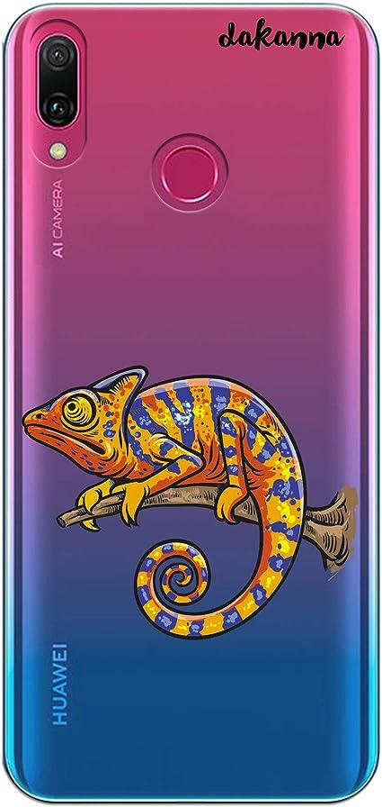 dakanna Funda Compatible con [Huawei Y9 2019] de Silicona Flexible ...