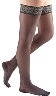 0b44106c51c187 Amazon.com: mediven sheer & soft, 20-30 mmHg, Thigh High Compression ...