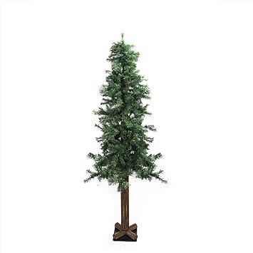 Amazon.com: Allstate Unlit Woodland Alpine Artificial Christmas ...