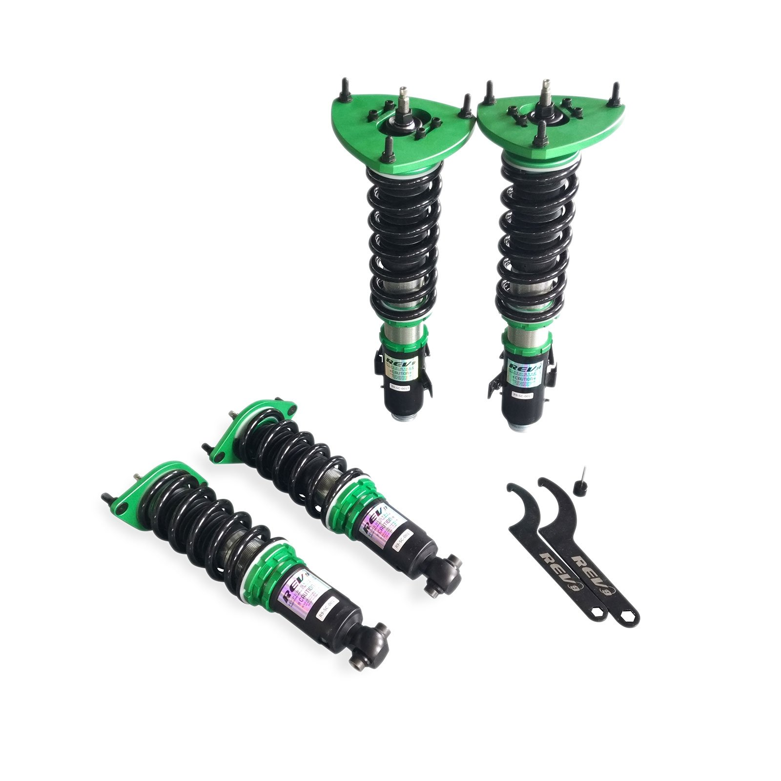 Rev9(R9-SC-0017) Hyper-Street Coilovers For Subaru Impreza WRX 2008-14, Twin Tube, Height/Dampening Adjustable
