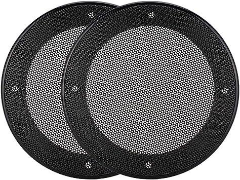 Ashata 2pcs Lautsprecher Gitter Grill 4 Zoll Elektronik