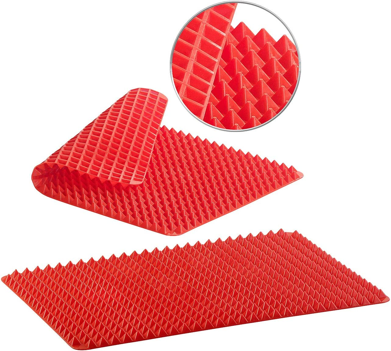Gr/ün Eisen Rest Anti Rutsch hitzebest/ändige Silikon B/ügelplatte Pad Mat Tray Dish Mat Pot Stand