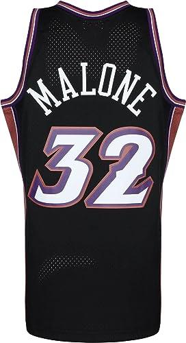 Mitchell & Ness Swingman Utah Jazz Malone Camiseta sin Mangas: Amazon.es: Ropa y accesorios