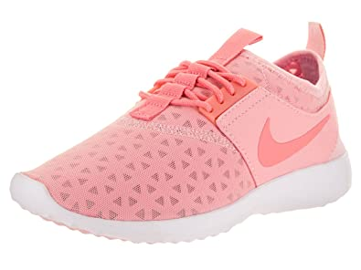c5ac4c56229 Nike Women's Juvenate Sneaker, Bright Melon/Sheen/White, ...