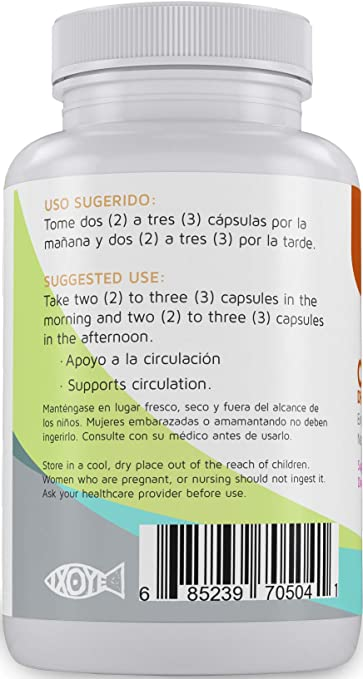Amazon.com: Castano de Indias para la Circulacion 1000 mg - Horse Chestnut 90 Caps - Betel Natural: Health & Personal Care