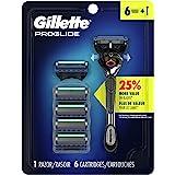 Gillette proglide Men's Razor Handle + 6 Blade Refills, 6 Count