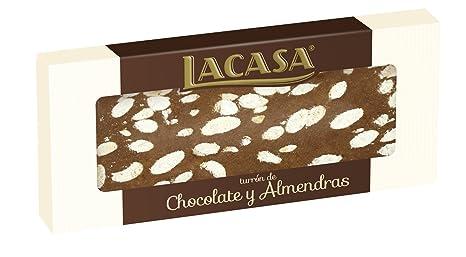 Lacasa Turrón de Chocolate con Almendra - 250 g