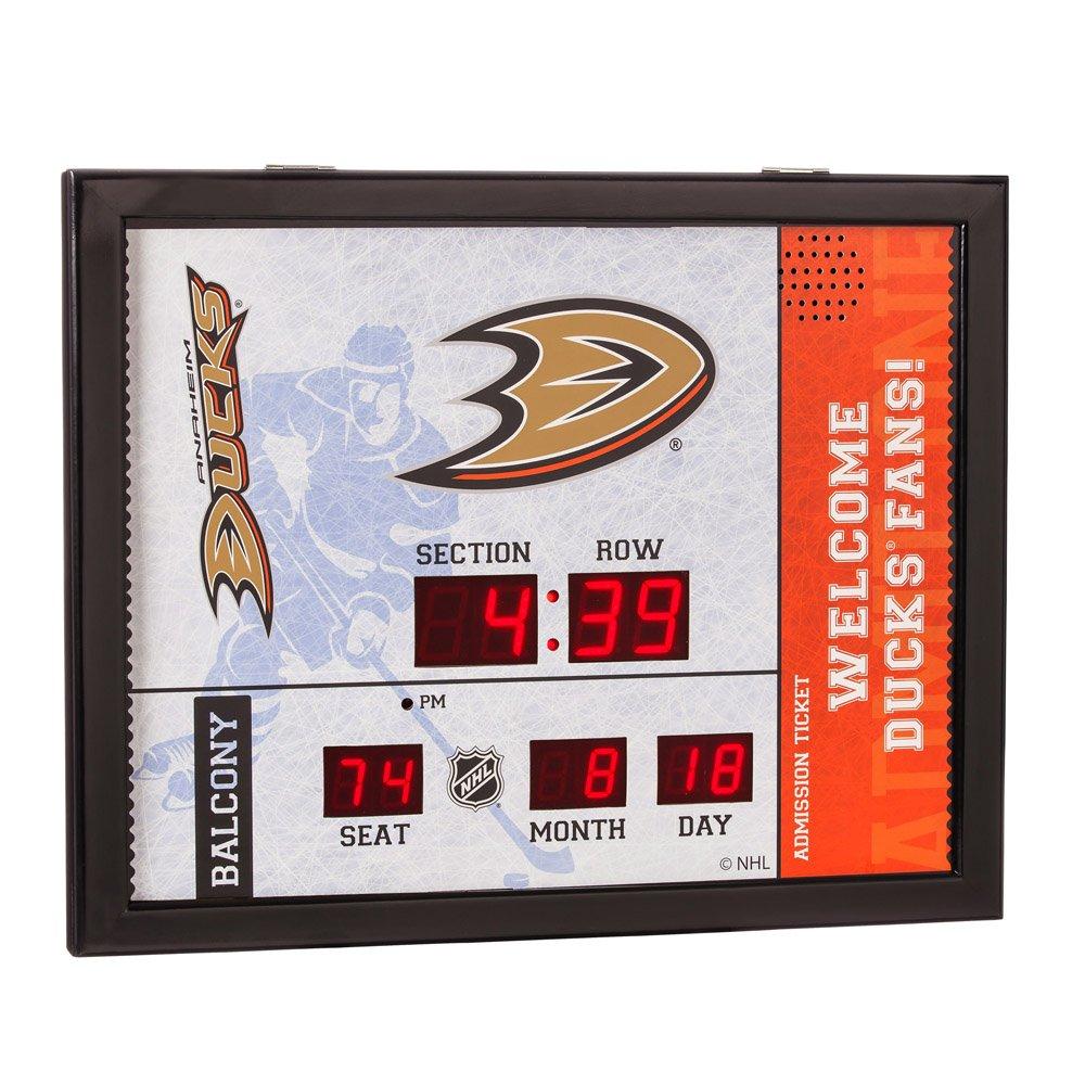 Amazon best sellers best sports fan wall clocks team sports america nhl bluetooth scoreboard wall clock amipublicfo Gallery