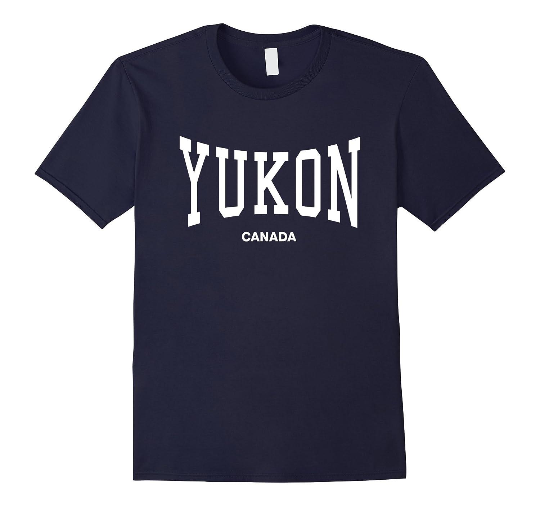 Yukon Canada Sports Gym Training T-Shirt-CL