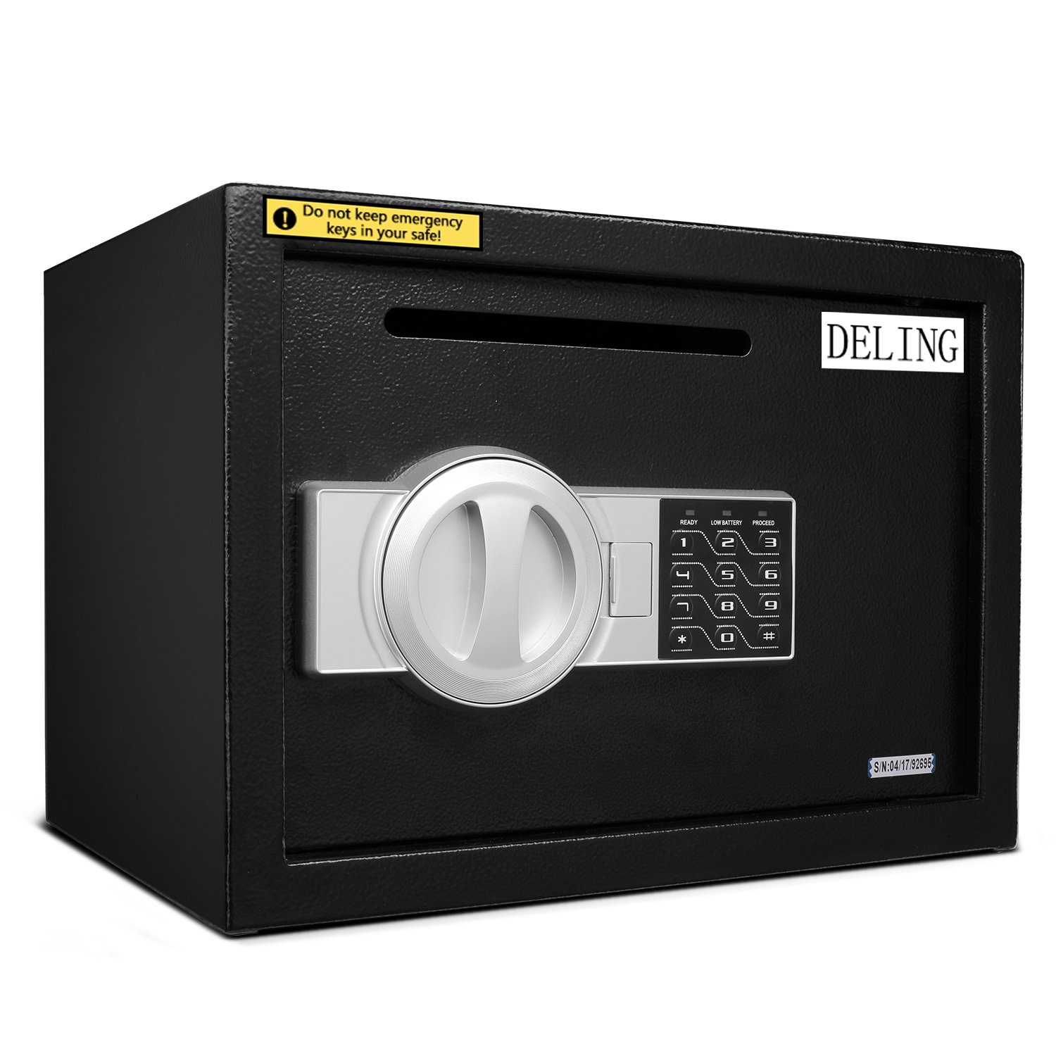 HYD-Parts Digital Security Safety Box,Money Gunsafe Cabinet Box for Home Office Hotel (25) by HYD-Parts (Image #4)