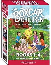 The Boxcar Children Books 1-4