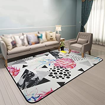 Perfekt Creative Light Teppich Modernes Wohnzimmer Teppich Sofa Couchtisch Matten  Schlafzimmer Bedside Rectangle Home Teppiche (