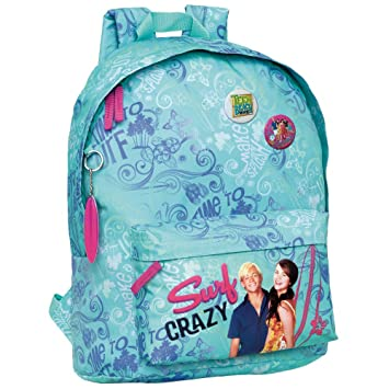 Disney Teen Beach Movie Mochila Tipo Casual, 20 Litros, Color Azul: Amazon.es: Equipaje
