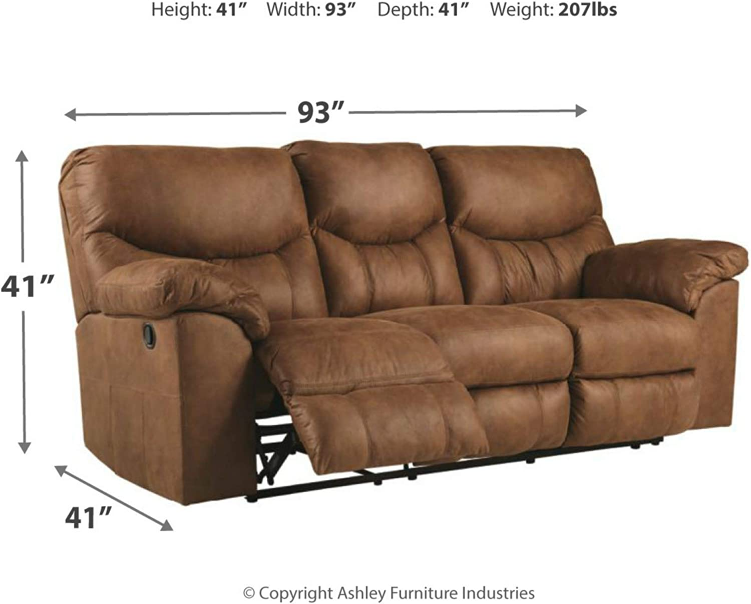 Signature Design by Ashley Boxberg Rocker Recliner Bark