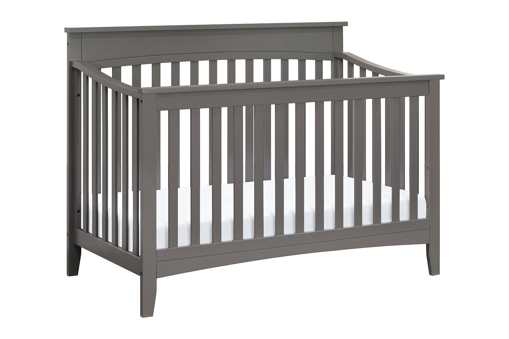 DaVinci Grove 4-in-1 Crib Full Size Conversion Kit Bed Rails - Slate