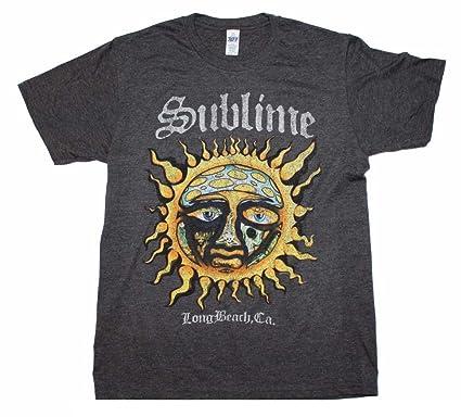334f7cf5d Amazon.com: Sublime Logo Stamp Sun Soft T-Shirt: Clothing
