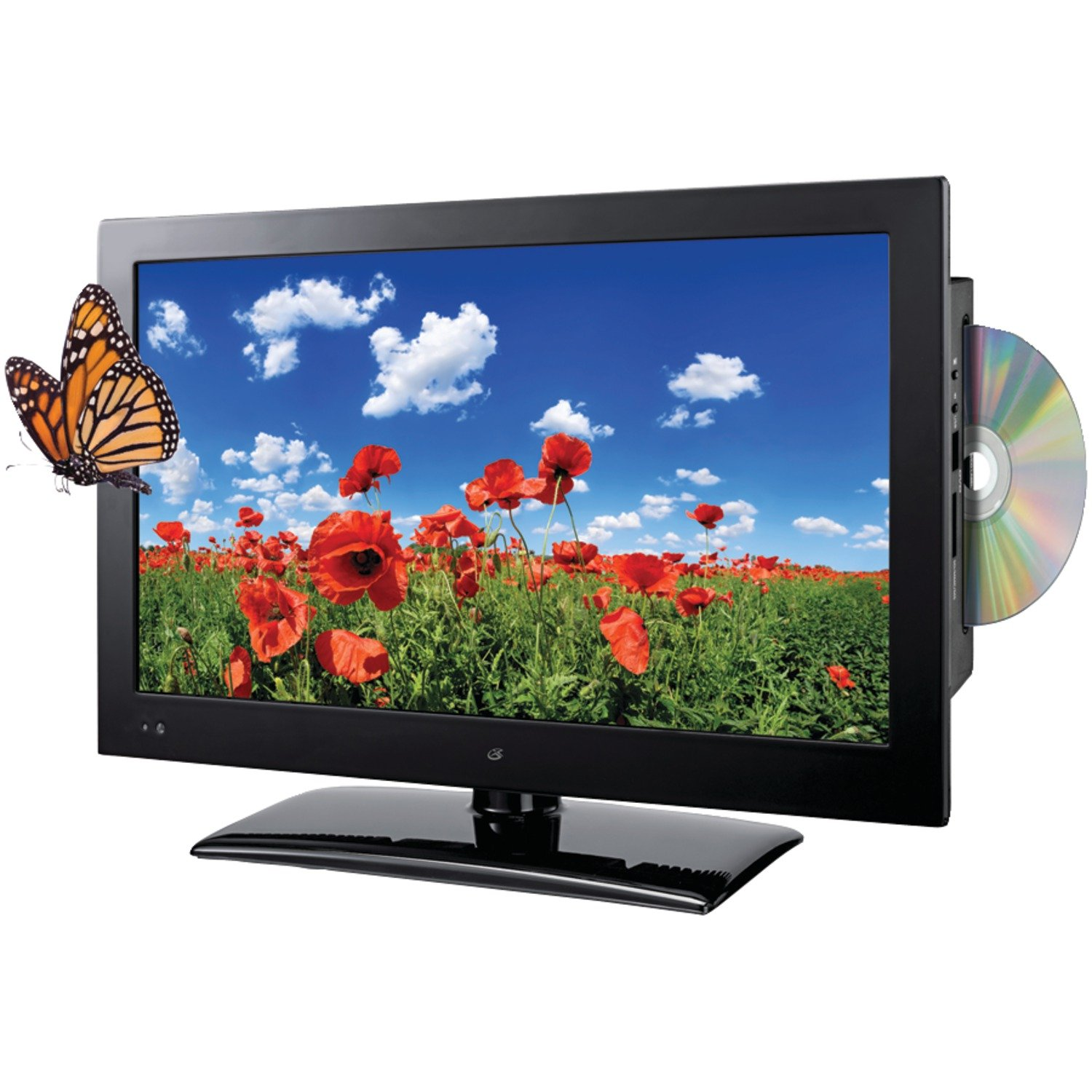 GPX TDE1982B 19IN LED HDTV/DVD Combo (Black) by GPX