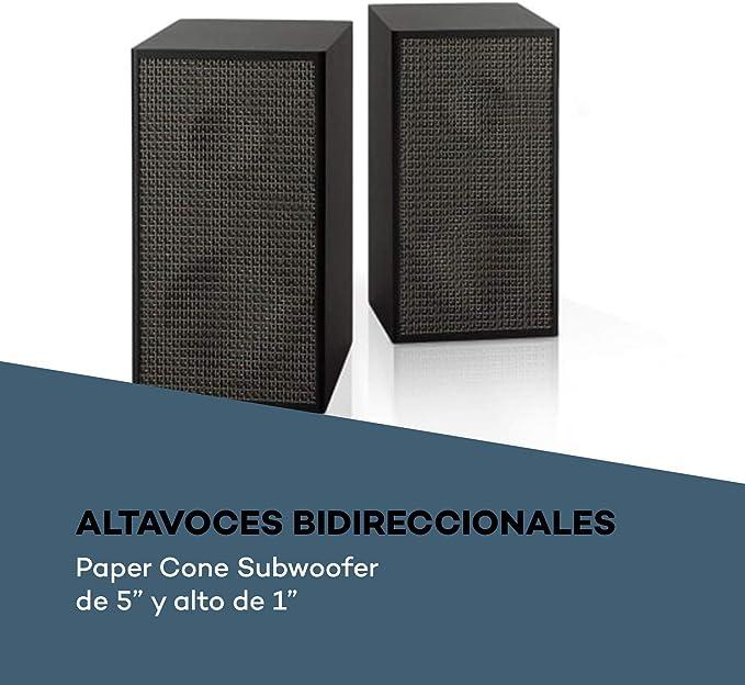 auna Pure Precision Box Juego de Altavoces Activos: Amazon.es ...