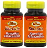 BioAstin 2 x 50 Kapseln à 12 mg, ORIGINAL AUS HAWAII