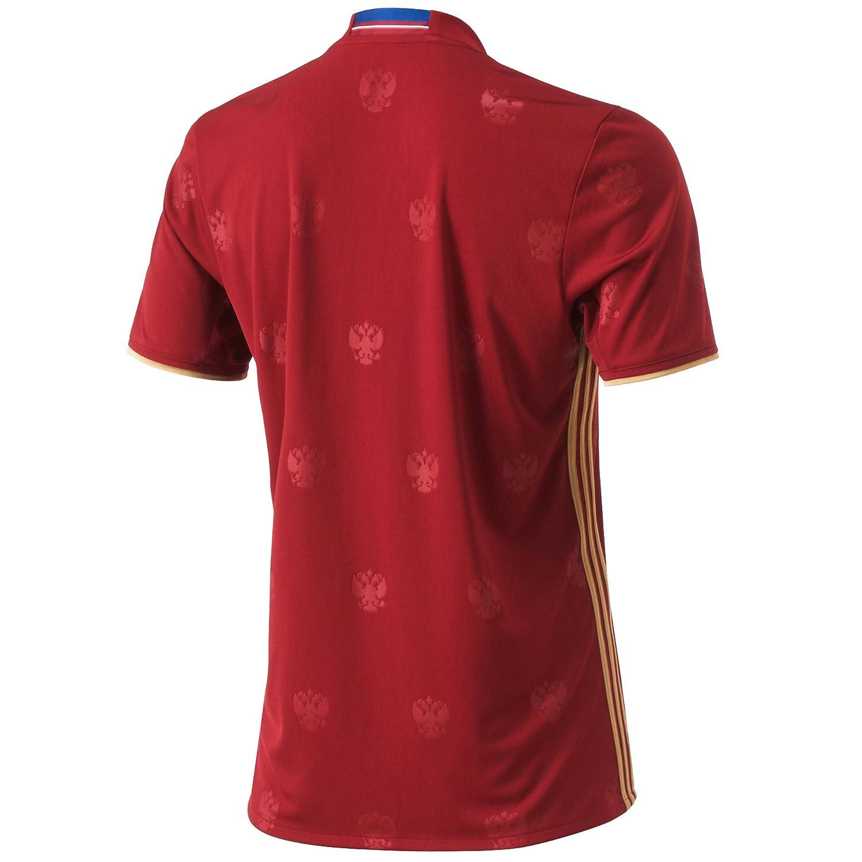 adidas RFU H JSY - Camiseta para Hombre, Color Rojo/Amarillo, Talla XL: Amazon.es: Zapatos y complementos