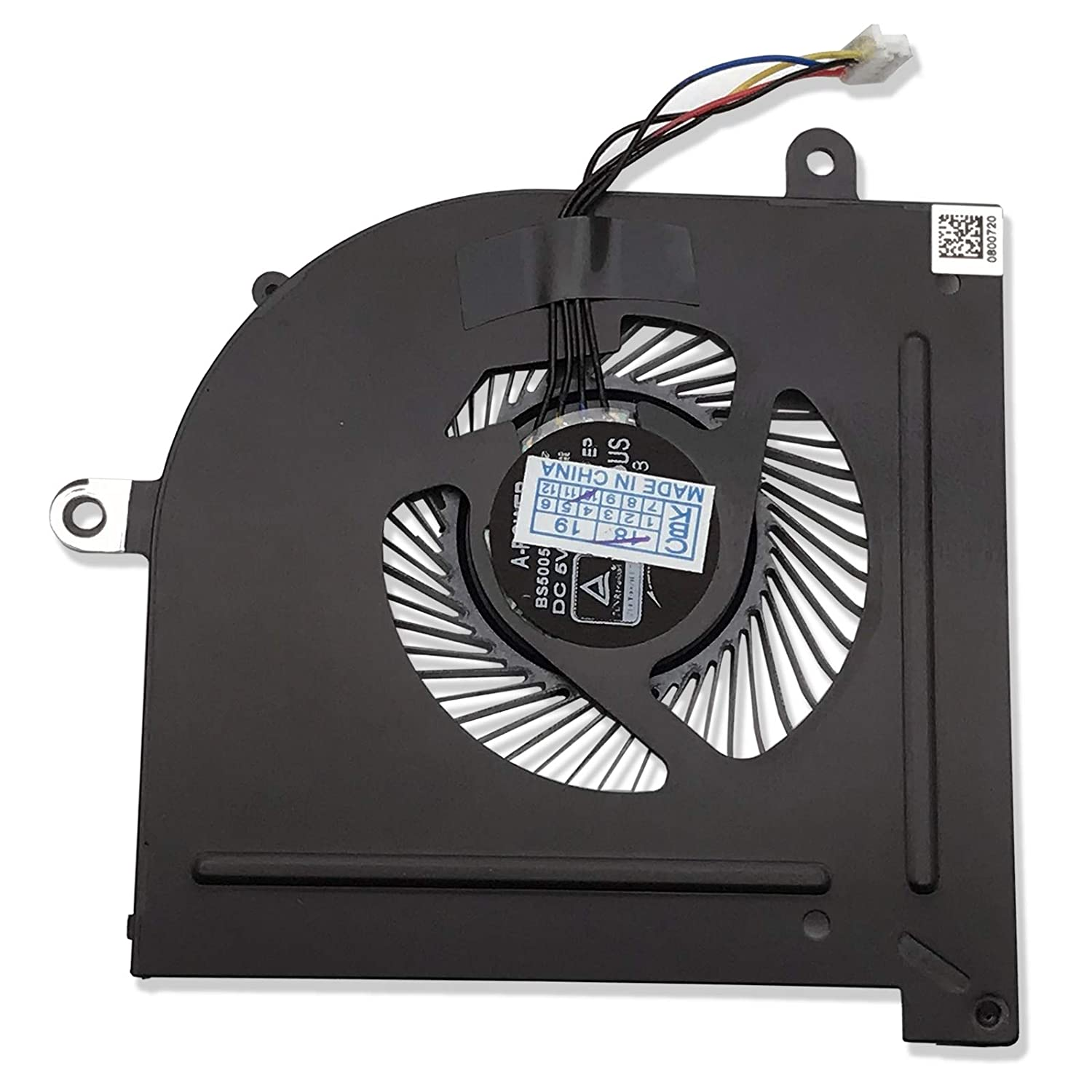 CBK New Laptop CPU Cooling Fan For MSI GS63VR GS73VR Stealth Pro